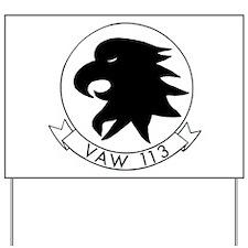 VAW 113 Black Eagles Yard Sign