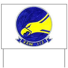 VAW 112 Golden Hawks Yard Sign
