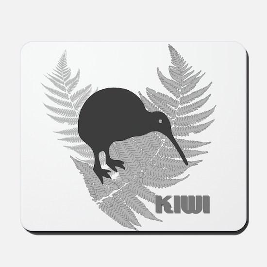 Silver Fern Kiwi Mousepad