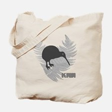 Silver Fern Kiwi New Zealand Tote Bag