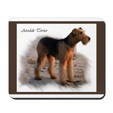 Airedale Terrier Art Mousepad