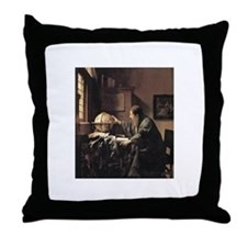 Vermeer Throw Pillow