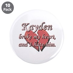 Kayden broke my heart and I hate him 3.5