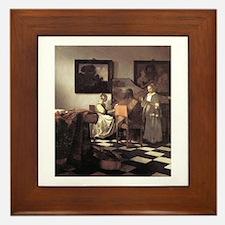 Vermeer Framed Tile