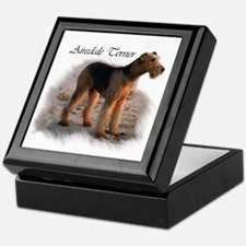 Airedale Terrier Art Keepsake Box