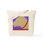 Yellow & Black Lab Tote Bag w/Logo