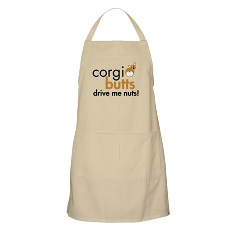 Corgi Butts Drive Me Nuts RWP BBQ Apron