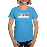 GREEN Is The New RED Women's Dark T-Shirt