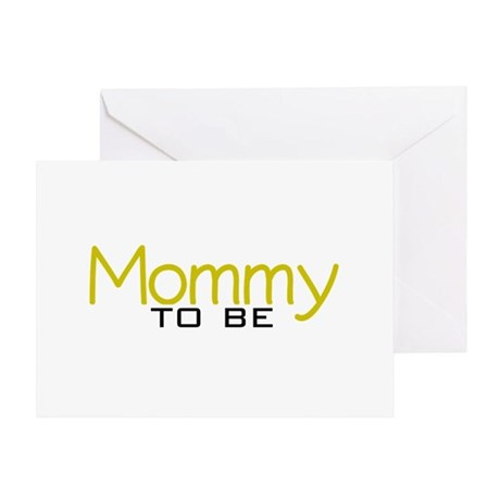 Mommy to be (New Mom) Greeting Card