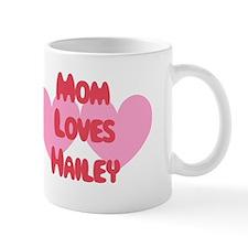 Mom Loves Hailey Small Mug
