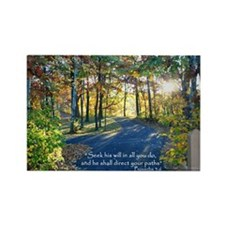Seek his will... Rectangle Magnet (10 pack)