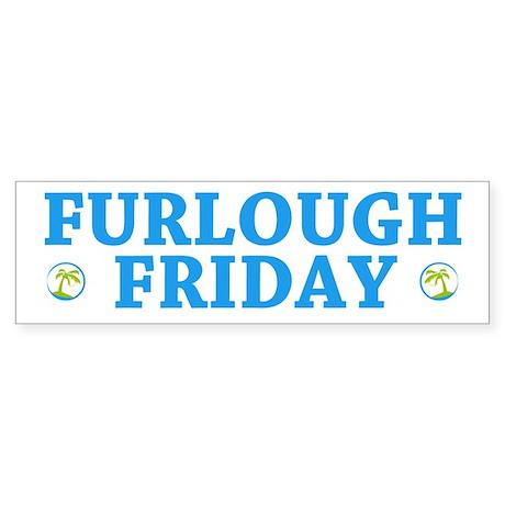 Furlough Friday Bumper Sticker (10 pk)