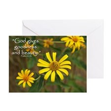 God gives... Greeting Cards (Pk of 10)