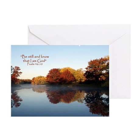 Be still... Greeting Cards (Pk of 10)