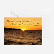 Morning by morning... Greeting Cards (Pk of 10)