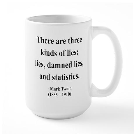 Mark Twain 18 Large Mug