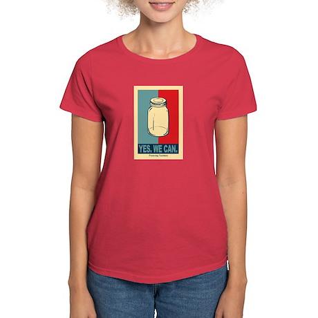 Yes We Can Women's Dark T-Shirt