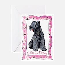 Kerry Blue Valentine Greeting Card