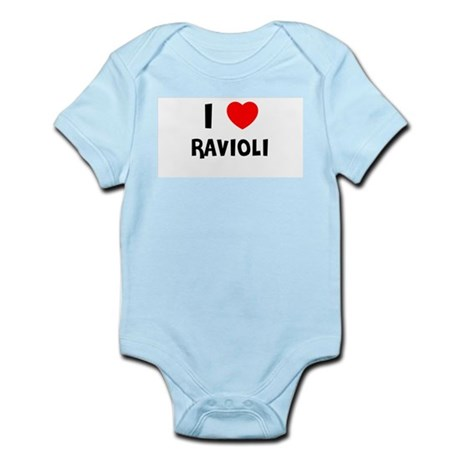 I LOVE RAVIOLI Infant Creeper