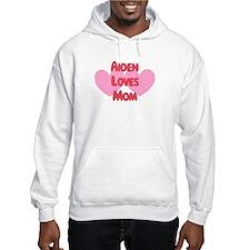 Aiden Loves Mom Hoodie