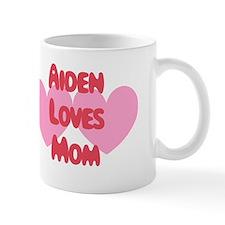 Aiden Loves Mom Mug
