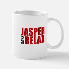 Jasper Says Relax Mug