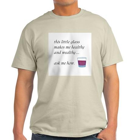 Little Glass Ash Grey T-Shirt