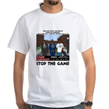 Stop the game & Never again Shirt