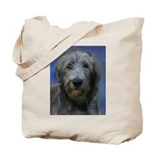 Cute Irish wolfhound art Tote Bag