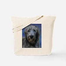 Cute Irish wolfhound Tote Bag