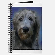 Cute Irish wolfhound Journal