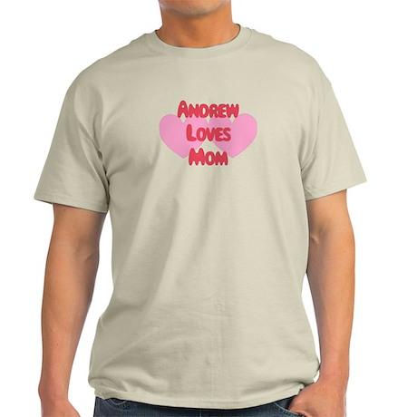 Andrew Loves Mom Light T-Shirt