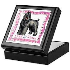 Bouvier Valentine Keepsake Box