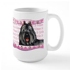Bouvier Valentine Mug