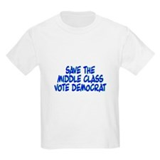 Save The Middle Class Kids T-Shirt