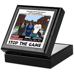 Stop The Game Keepsake Box