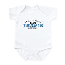 Travis Air Force Base Infant Bodysuit