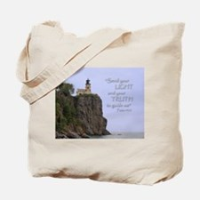Send your light... Tote Bag