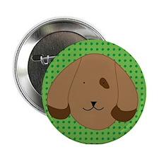 Polka-dot dog button