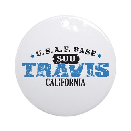 Travis Air Force Base Ornament (Round)