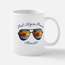 Florida - Fort Myers Beach Mugs