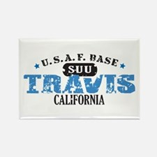 Travis Air Force Base Rectangle Magnet