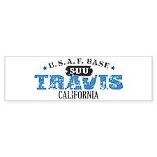 Travis Air Force Base Bumper Bumper Sticker