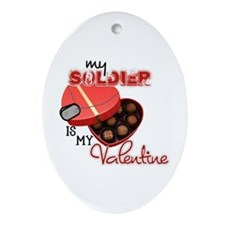 Valentine (Soldier) Oval Ornament