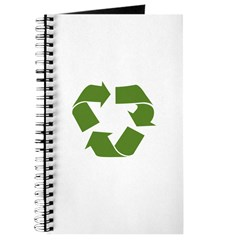 Recycle Sign Heart Journal