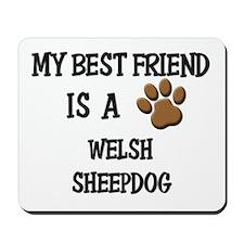 My best friend is a WELSH SHEEPDOG Mousepad