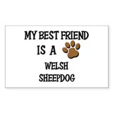 Welsh sheepdog Stickers