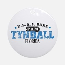 Tyndall Air Force Base Ornament (Round)