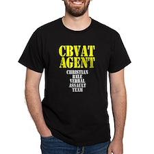Christian Bale Verbal Assault Team Agent T-Shirt