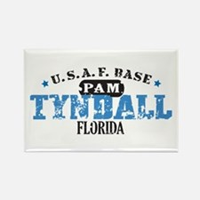 Tyndall Air Force Base Rectangle Magnet